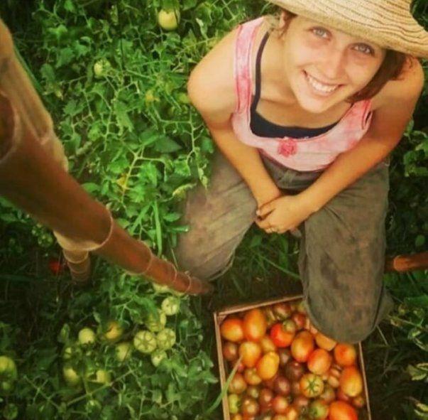Pilar es Técnica en Producción Vegetal Orgánica y promueve las huertas caseras