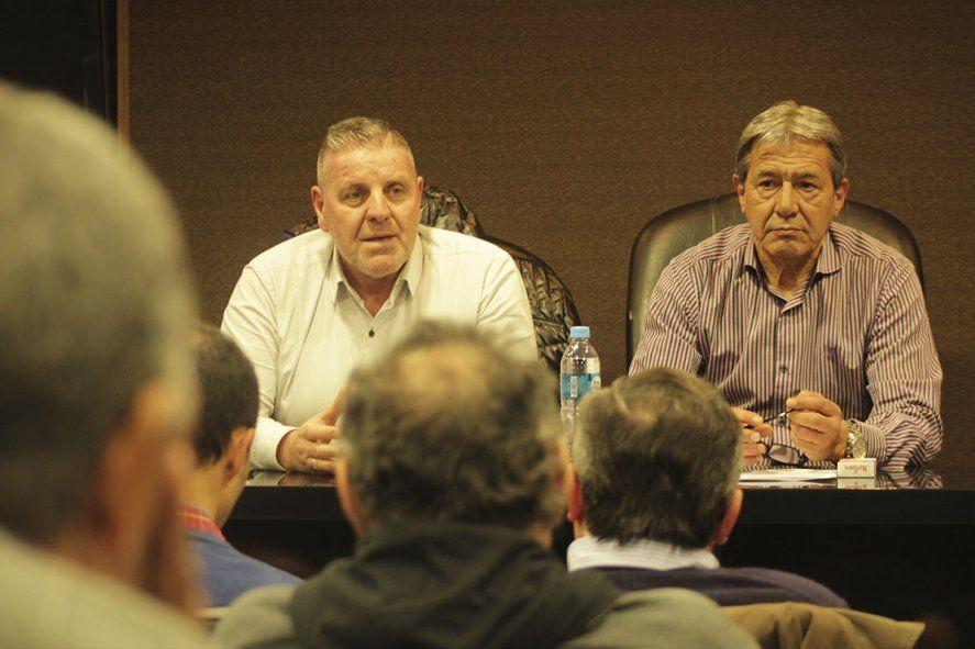Pedro Milla, secretario general de la Federación, que decretó un paro en refinerías que puede llevar al desabastecimiento.