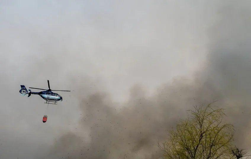 Hudson: Bomberos extinguieron el incendio en la costa