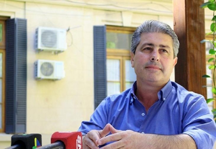 Javier Martínez -Intendente de Pergamino