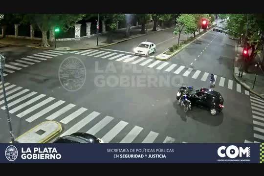 El durísimo choque que se dio en una esquina de La Plata