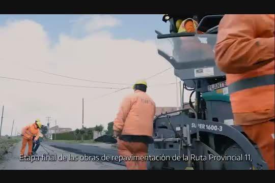 Culmina la obra de repavimentación de la Ruta Provincial 11