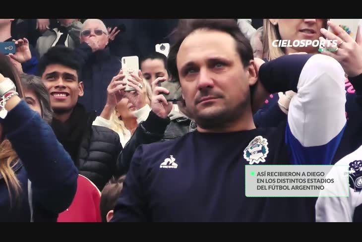 Diego Maradona en el fútbol argentino, un homenaje en vida