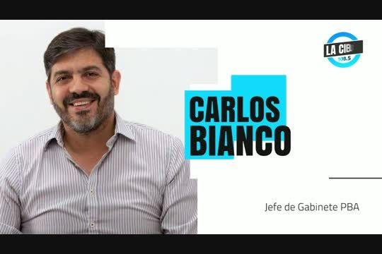 Carlos Bianco cuestionó la represión policial de ayer