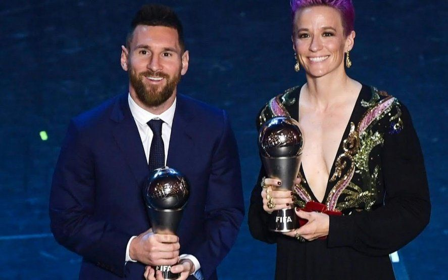 Balón de oro 2019: Lionel Messi y Megan Rapinoe en la cima del fútbol mundial