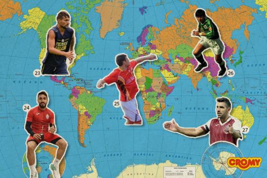 la sorprendente lista de futbolistas de la provincia que juegan en las ligas mas exoticas del mundo
