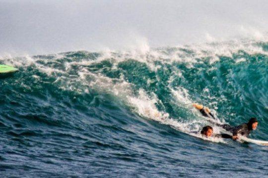 un surfista argentino fue atacado por un tiburon, lo enfrento a los golpes y logro salvarse