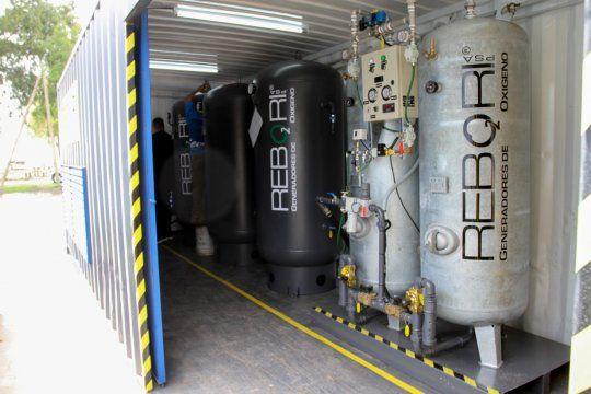 se instalo una planta de oxigeno para abastecer hospitales en ensenada