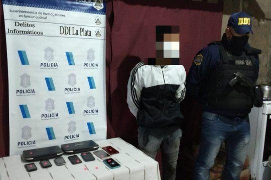 El joven de 22 años detenido en La Plata a pedido de la justicia porteña