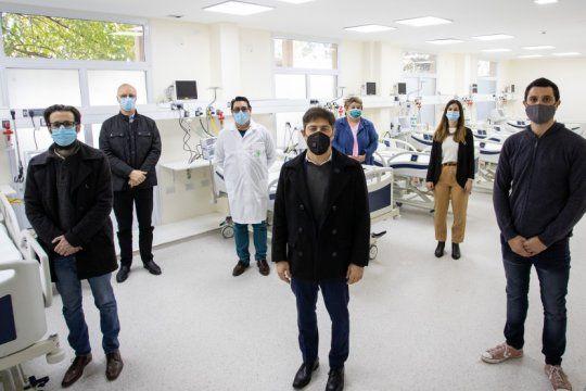 kicillof inauguro una nueva unidad de terapia intensiva en general rodriguez