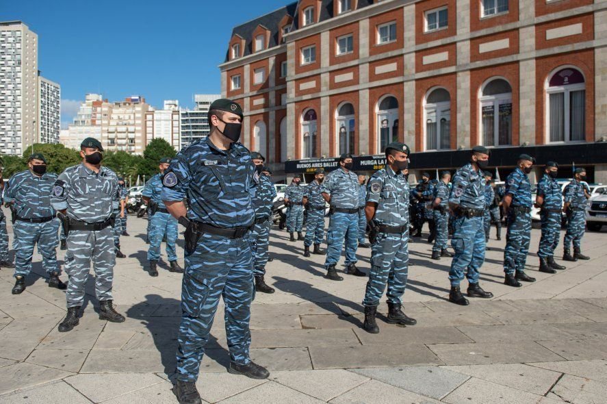 Los efectivos de la Provincia desplegados en el Operativo Sol habían manifestado su enojo por el recibo de viáticos