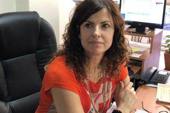 La fiscal Marina Lara, quien encabezó la investigación