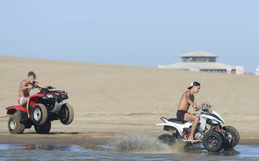 Verano 2020: consejos para prevenir accidentes por el uso de cuatriciclos en la playa