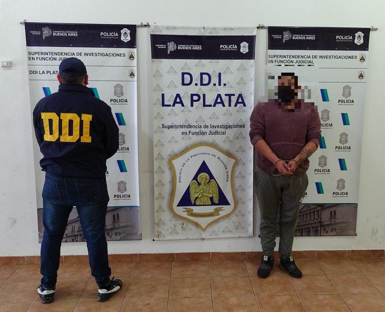 El hombre de 31 años fue detenido en 520 entre 145 y 146