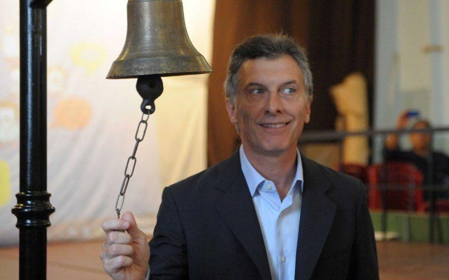 Efectos de la crisis económica: ahora Macri lanzó una campaña para comprar útiles escolares en cuotas