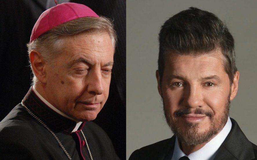 """Monseñor Aguer trató de """"engendro"""" a Tinelli y el conductor le retrucó: """"¿De los curas pedófilos no dijo nada?"""""""