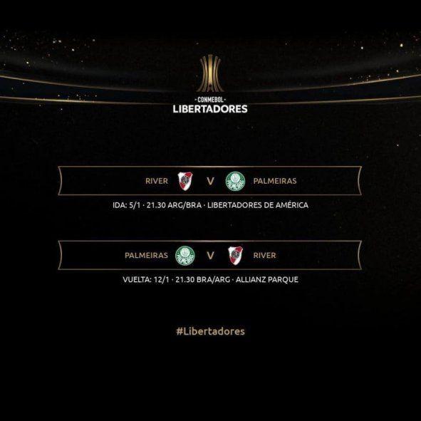 River, otra vez protagonista de la Libertadores