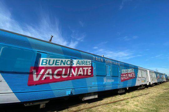 El Tren Sanitario va al interior de la Provincia