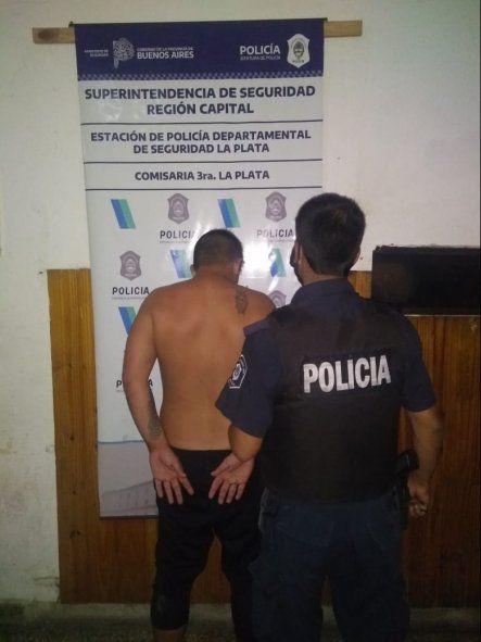 Un hombre de 31 años fue detenido en Los Hornos por violencia de género