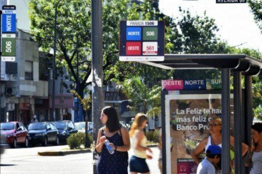 la plata: desde el lunes regira un nuevo recorrido de micros en el centro de la ciudad