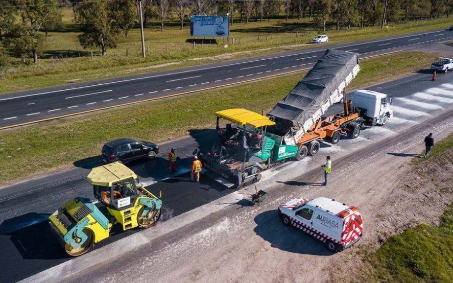 Por obras de repavimentación en la Ruta 2, hay reducción de calzada camino a la Costa Atlántica