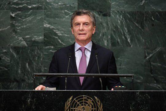 macri dara su ultimo discurso en la onu: sin reunion con trump y tension con el fmi