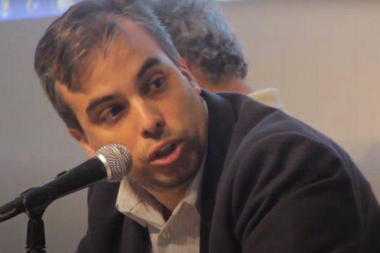 Federico Martín Gómez, presidente del CC-ARI La Plata.