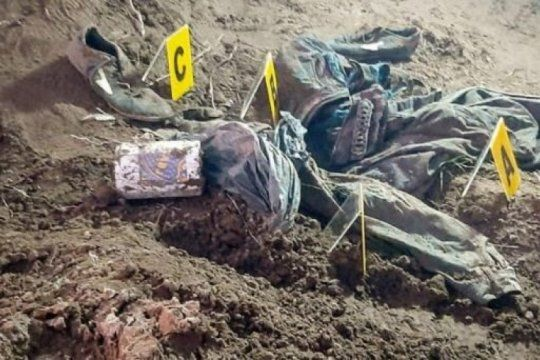la busqueda de facundo: hallaron huesos quemados que seran peritados