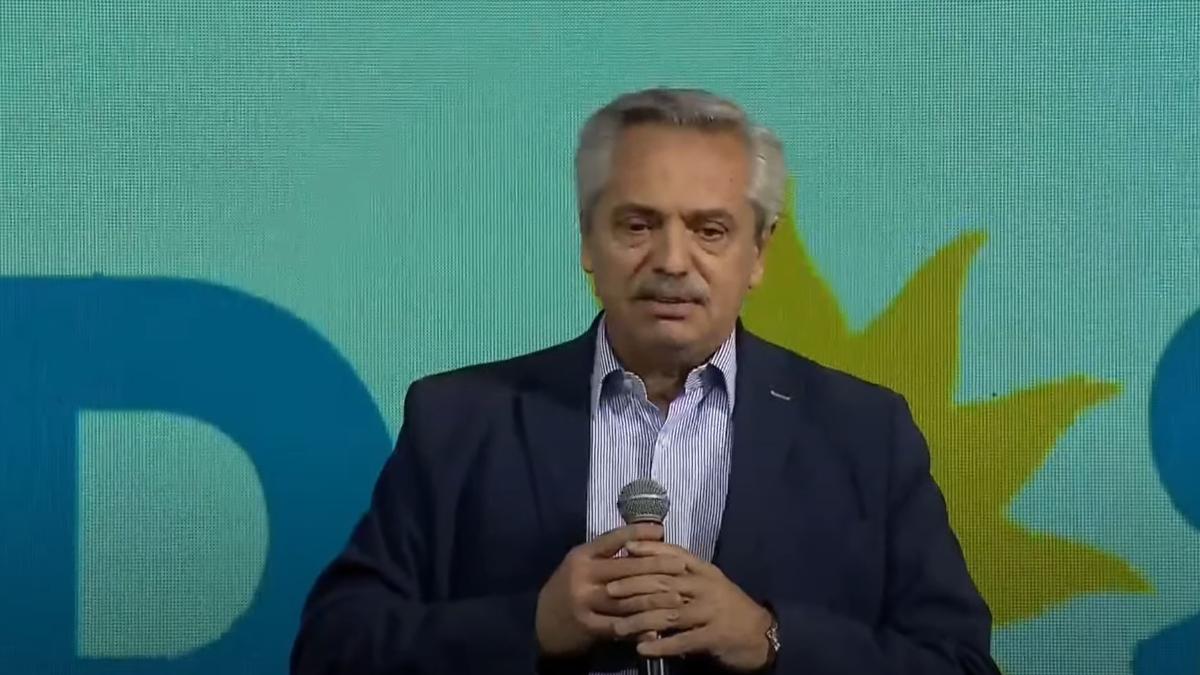 Alberto Fernández salió a dar la cara tras las elecciones PASO 2021.