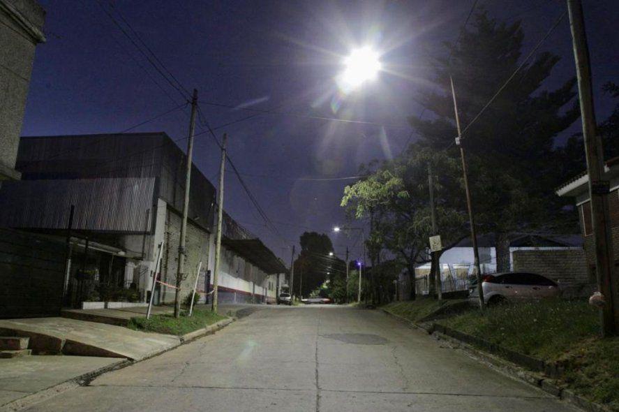 Plan de iluminación en Quilmes