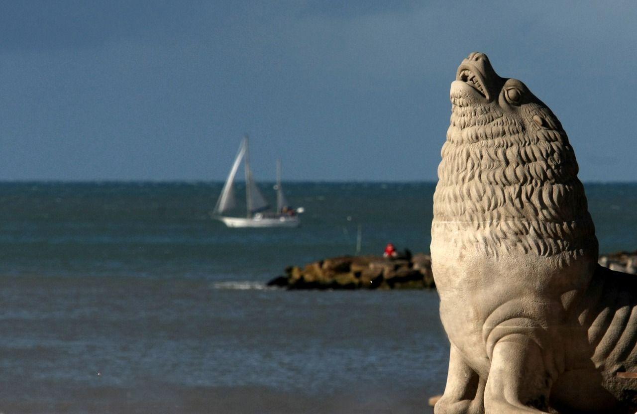 Mar del Plata fue un destino elegido para las vacaciones de invierno