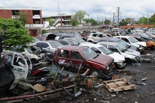 desarmaderos en la mira: 2.700 locales clausurados, 650 vehiculos secuestrados y casi 700 detenidos
