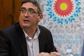 Javier Rodríguez es el Ministro de Desarrollo Agropecuario de la provincia de Buenos Aires