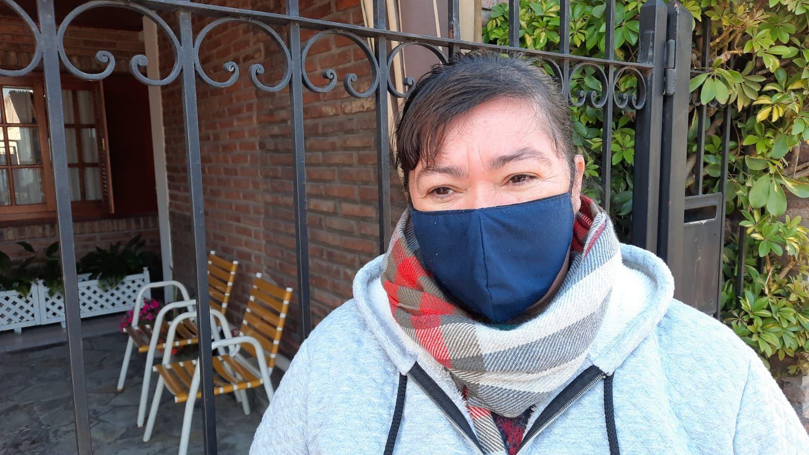 La esposa del hombre asaltado por motochorros en Tolosa