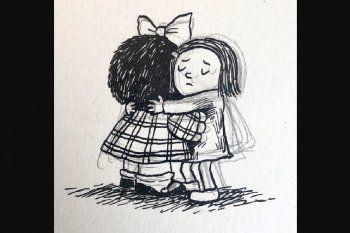 Adiós, Quino: qué personajes de otros artistas despidieron al padre de Mafalda
