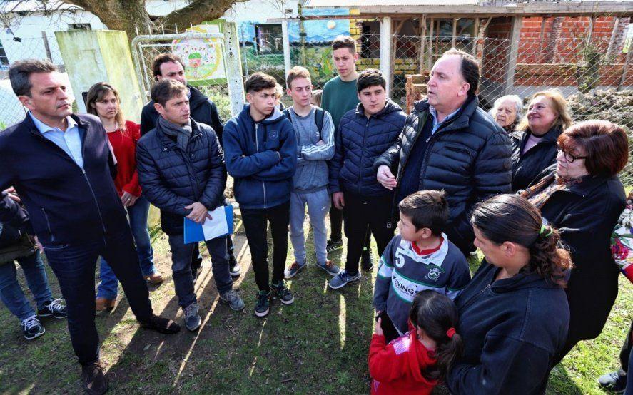 """Kicillof en Las Heras: """"Los bonaerenses no tienen trabajo, tienen dificultades"""""""