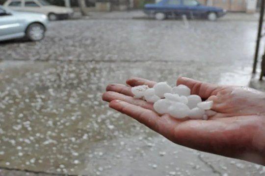 hay alerta meteorologico a muy corto plazo: en que zonas va a caer granizo