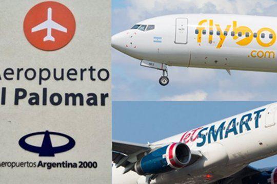 En el polémico aeropuerto de El Palomar operan Flybondi y JetSmart