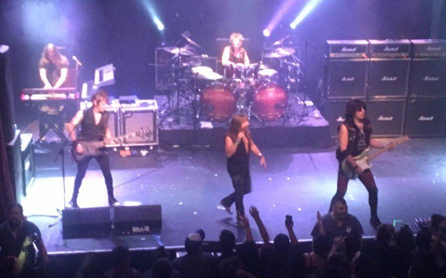 Rata Blanca: mirá las imágenes del show de la legendaria banda en La Plata