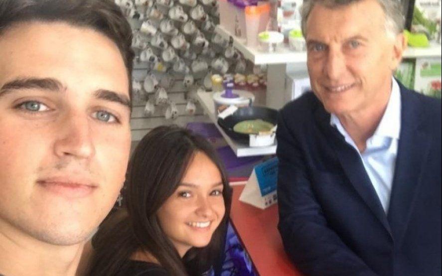 El comerciante platense que recibió a Macri contó cómo es el detrás de escena de una visita presidencial