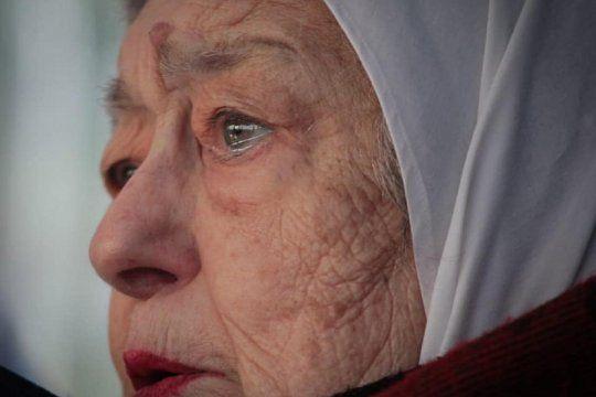 Hebe de Bonafini cumple 92 años. Foto: Luis Iramain.