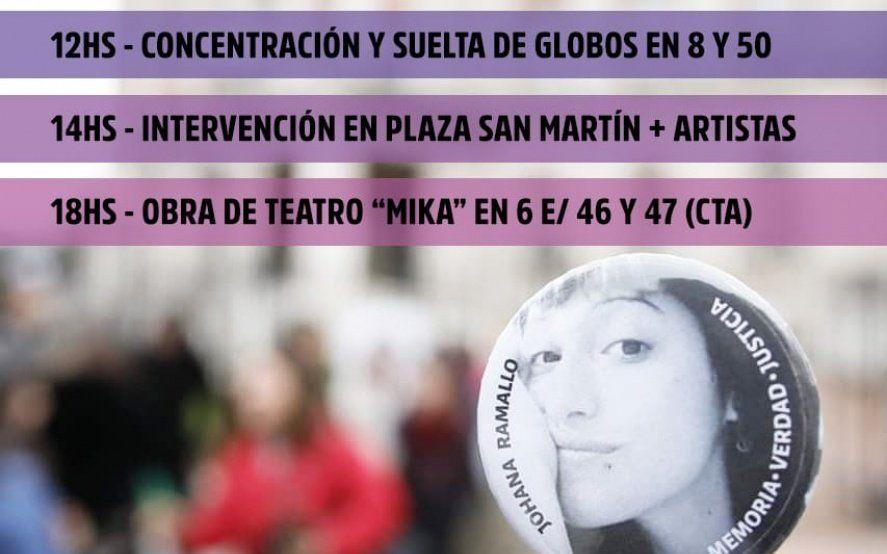 La Plata: marchan en reclamo de justicia a dos años de la desaparición de Johana Ramallo