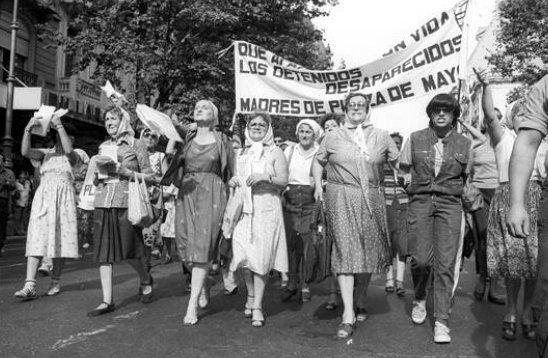 La primera ronde de las Madres de Plaza de Mayo fue el 30 de abril de 1977