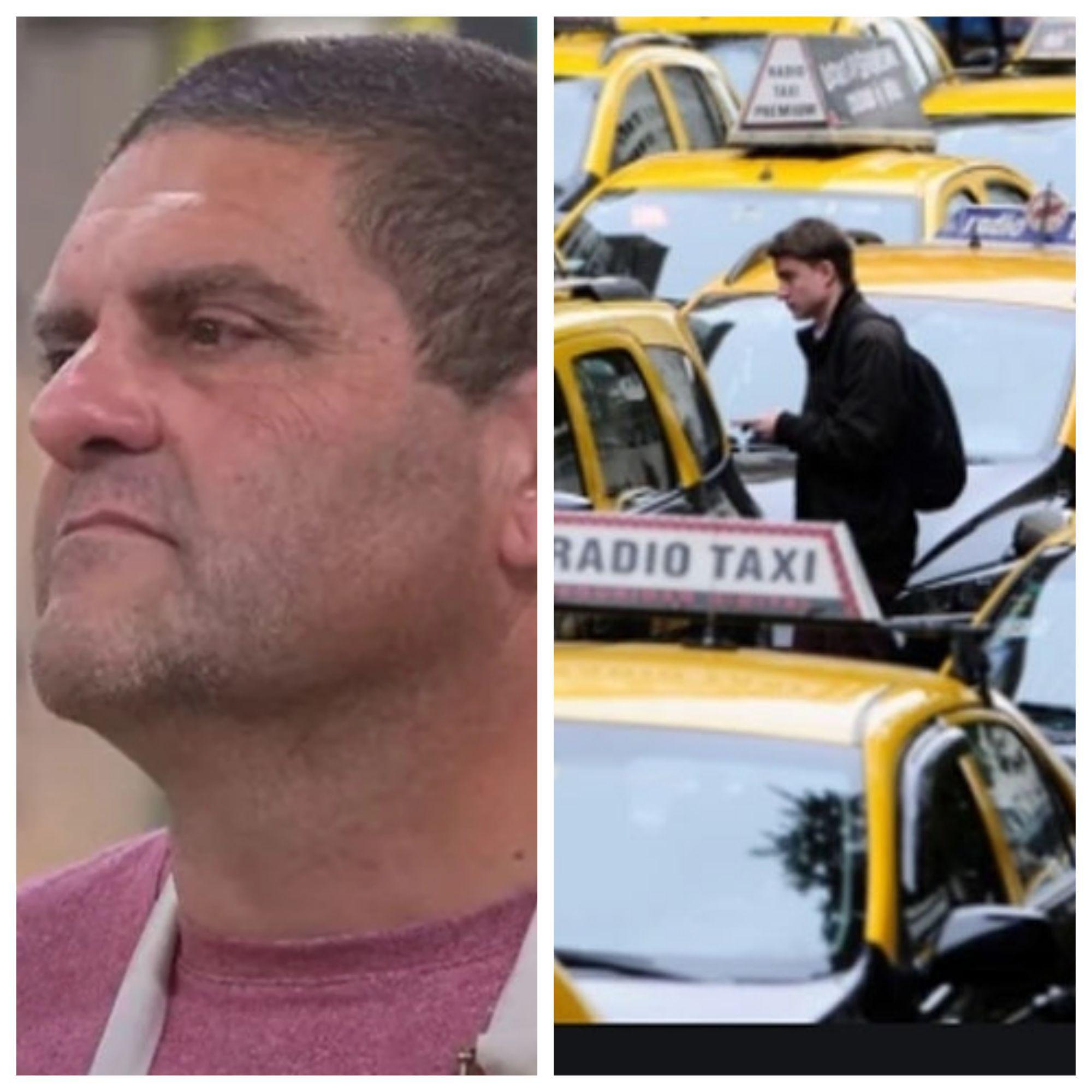 taxistas explotaron contra bake off por la expulsion de gabriel