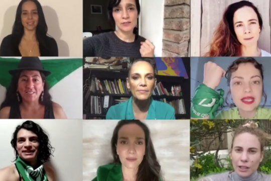 En el marco del Día por la Legalización del Aborto en América Latina y el Caribe, Actrices Argentinas se sumaron al pañuelazo virtual.