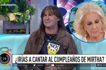 Adrián Barilari duro con Mirtha Legrand: No iría ni por un millón de dólares