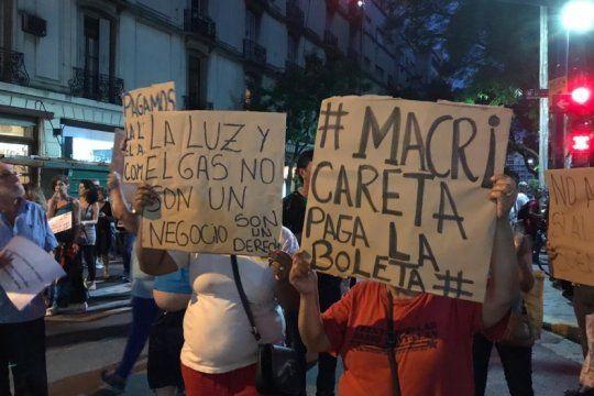 #noaltarifazo: miles de personas se sumaron al ruidazo nacional contra los aumentos de servicios publicos