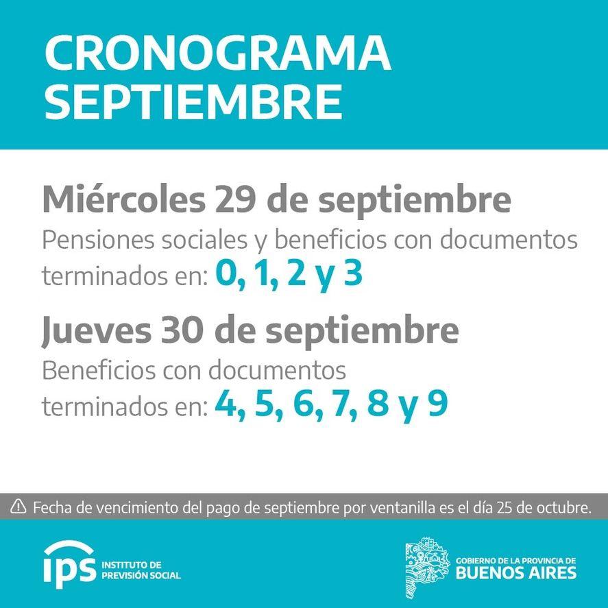 Jubilados y pensionados del IPS cobran a partir del 29 de septiembre