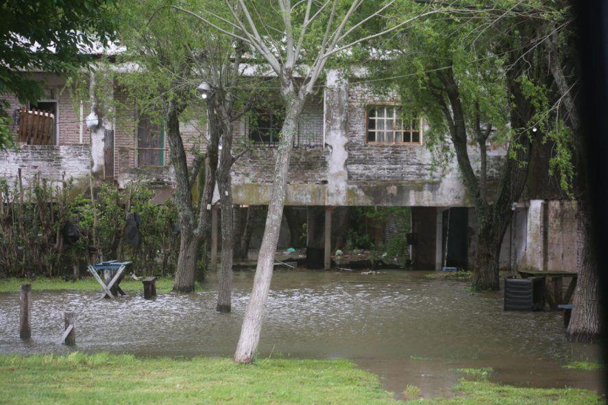 Sudestada en Punta Lara: imágenes impactantes del temporal