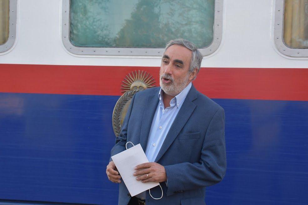 Miguel Fernández, intendente de Trenque Lauquen